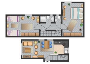 _Rosenkamp_ App_ 3 _ EG_re_, Apartmány  Wenningstedt - big - 9