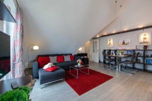 Landhaus _Berthin_Bleeg_ App_ 8 Di, Apartmanok  Wenningstedt - big - 1