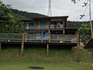 Casa Rústica na Praia, Ferienhäuser  Ubatuba - big - 10