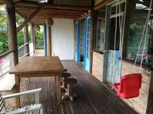 Casa Rústica na Praia, Nyaralók  Ubatuba - big - 24