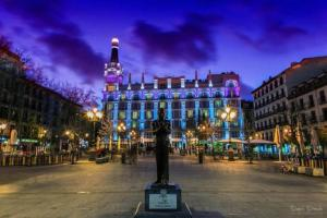 M&F Apartaments Huertas, Apartmány  Madrid - big - 10
