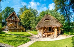Chata Dom Jeziorna Lubiatów Polsko