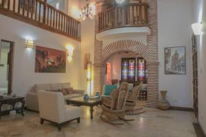 5 Bedroom Old City Luxury House, Prázdninové domy  Cartagena de Indias - big - 10