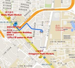 Old Taipei Wenzhou Street, Apartmanok  Tajpej - big - 12