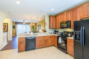 Three-Bedroom TidecreStreetVilla #4004, Vily  Orlando - big - 4