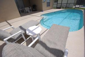 Three-Bedroom Safari Lodge Villa, Villas  Orlando - big - 16