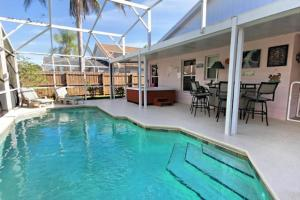 Four-Bedroom Audez Tropical Villa, Vily  Orlando - big - 27