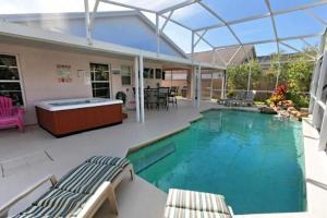 Four-Bedroom Audez Tropical Villa, Vily  Orlando - big - 26