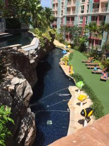 Grand Caribbean Condo by Weiwei, Apartmány  Pattaya South - big - 81
