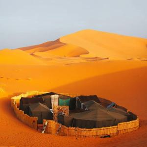 Marhaba Camp, Camel & Sandboarding, Zelt-Lodges  Merzouga - big - 40