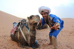 Marhaba Camp, Camel & Sandboarding, Zelt-Lodges  Merzouga - big - 43