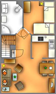 _Carolin_ App_ 3_ OG_ links, Apartmány  Wenningstedt - big - 2