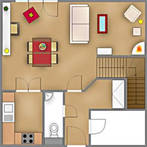 _Klingler_s Hues_ App_ 1_ EG links, Apartmanok  Wenningstedt - big - 6
