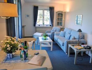 _Koeoevenhues_ App_ 5_OG_re, Apartmanok  Wenningstedt - big - 7