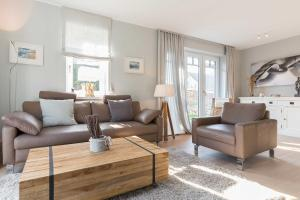 Wohnen und Mee_h_r_ App_ 1, Apartmanok  Wenningstedt - big - 13