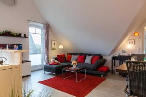 Landhaus _Berthin_Bleeg_ App_ 8 Di, Apartmanok  Wenningstedt - big - 10
