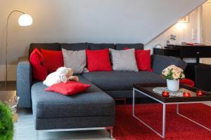 Landhaus _Berthin_Bleeg_ App_ 8 Di, Apartmanok  Wenningstedt - big - 14