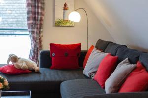 Landhaus _Berthin_Bleeg_ App_ 8 Di, Apartmanok  Wenningstedt - big - 13