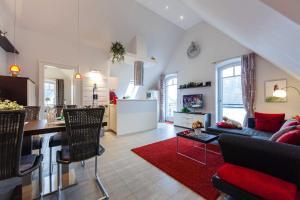 Landhaus _Berthin_Bleeg_ App_ 8 Di, Apartmanok  Wenningstedt - big - 12