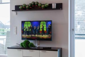 Landhaus _Berthin_Bleeg_ App_ 8 Di, Apartmanok  Wenningstedt - big - 21