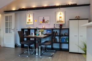 Landhaus _Berthin_Bleeg_ App_ 8 Di, Apartmanok  Wenningstedt - big - 15