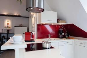 Landhaus _Berthin_Bleeg_ App_ 8 Di, Apartmanok  Wenningstedt - big - 6