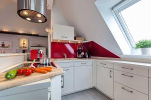 Landhaus _Berthin_Bleeg_ App_ 8 Di, Apartmanok  Wenningstedt - big - 5