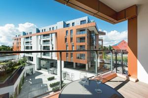 Blue Mandarin Riverside, Apartmány  Gdaňsk - big - 66