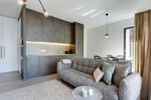 Blue Mandarin Riverside, Apartmány  Gdaňsk - big - 75