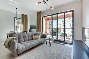Blue Mandarin Riverside, Appartamenti  Danzica - big - 77