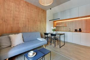 Blue Mandarin Riverside, Apartmány  Gdaňsk - big - 93