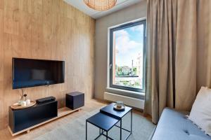Blue Mandarin Riverside, Apartmány  Gdaňsk - big - 94