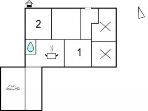 Studio Apartment in Esbjerg V, Apartmány  Esbjerg - big - 2