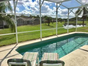 pool villa at town center