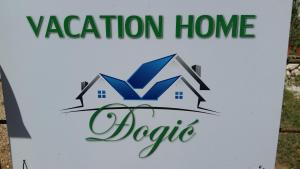 Vacation home Djogic