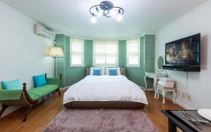 Green Hill Pension, Дома для отпуска  Пхёнчхан - big - 99