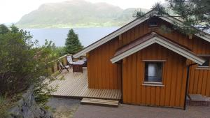 A Picture of Holiday Home Kvernesfjorden