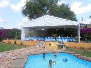 Quinta Cobos, Alloggi in famiglia  Tequisquiapan - big - 34