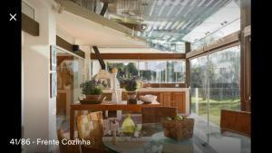 Casa Paraiso a beira-mar, Ville  Florianópolis - big - 44