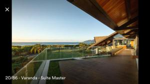 Casa Paraiso a beira-mar, Ville  Florianópolis - big - 55