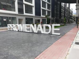 Promenade residence, Апартаменты  Байан-Лепас - big - 1