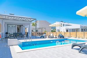Blue Oyster Villas, Виллы  Платанес - big - 44