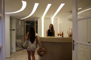 Spiros, Aparthotely  Naxos Chora - big - 142