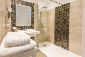 Les chambres d'Aimé, B&B (nocľahy s raňajkami)  Carcassonne - big - 8