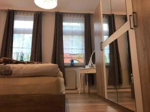 Traumlage 60qm WohlfuehlOase am Lu, Apartmanok  Bünde - big - 3