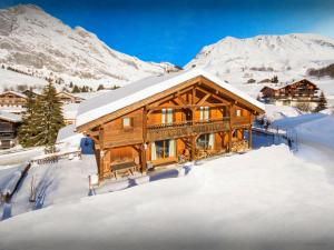 Chalet L'Ours Blanc, Horské chaty  Le Grand-Bornand - big - 24