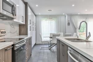 QuickStay - Classy 5bdrm House in Vaughan, Ferienhäuser  Toronto - big - 71