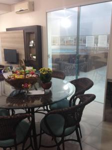 Apartamento Cobertura Com Piscina Privativa Praia Ingleses, Apartments  Florianópolis - big - 5
