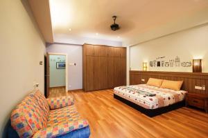 Zan Pavillon Spacious & Natural Stay, Apartmanok  Bayan Lepas - big - 14