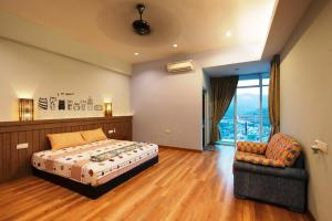 Zan Pavillon Spacious & Natural Stay, Apartmanok  Bayan Lepas - big - 13